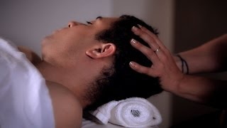 How To Massage The Side Of The Head | Head Massage