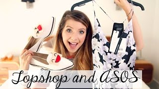 Topshop & ASOS Clothing Haul Links to items are below Second channel: http://bit.ly/1e9j21C Previous Video: ...