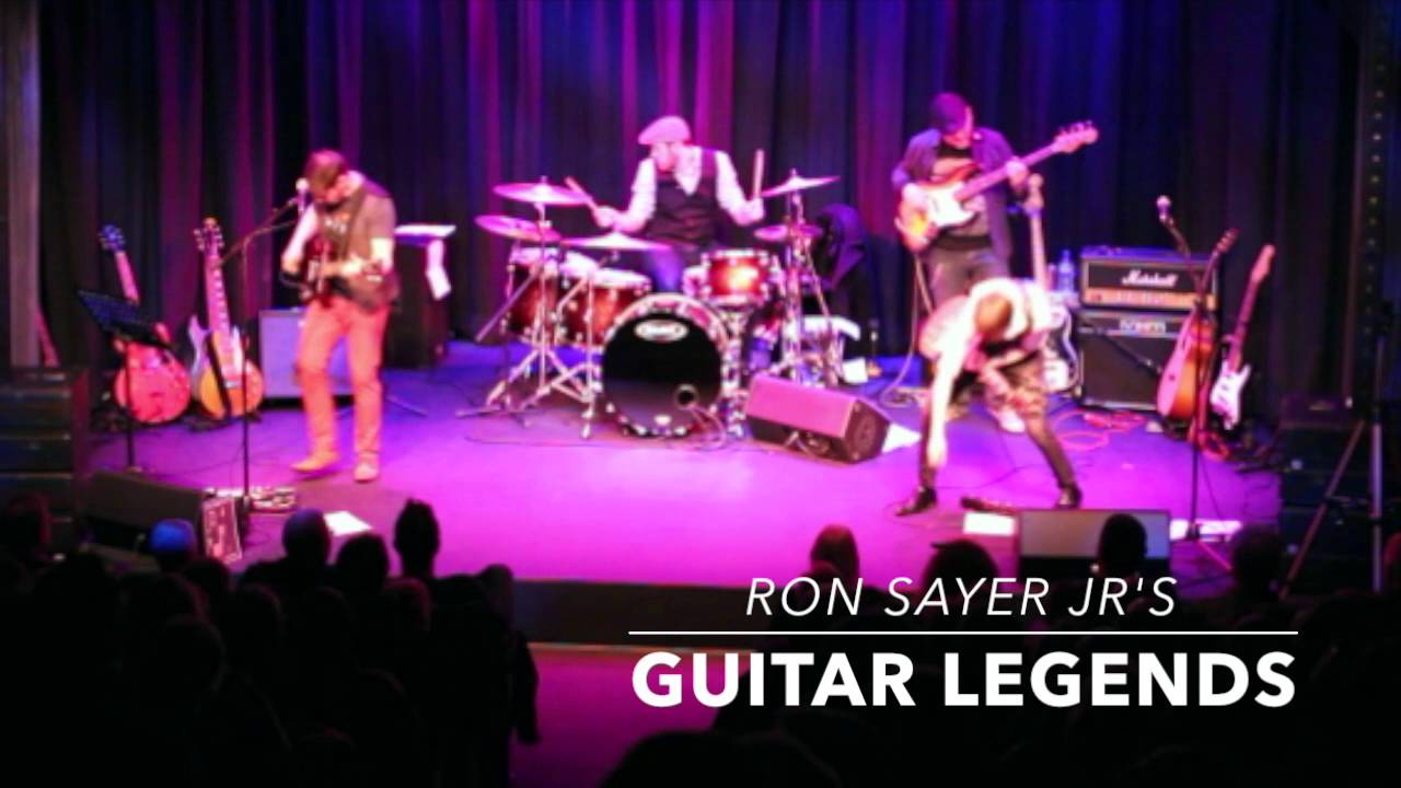 Ron Sayer Jr's Guitar Legends Opening Medley