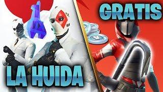 COMPLETA DESAFIOS *TODO en JUEGO**LA HUIDA* Para Conseguir Esta Recompensa...Fortnite Battle Royale