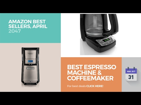 Best Espresso Machine & Coffeemaker Combos Amazon Best Sellers, April 2017