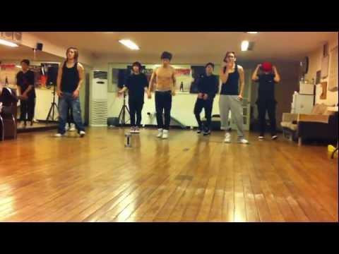 Ntrain's dance practice [pre-debut] (видео)