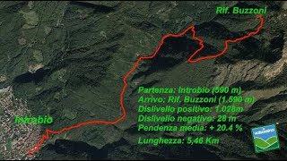 Dai Piani di Bobbio al rifugio Buzzoni