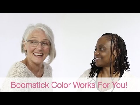 BOOMstick Color works for you!