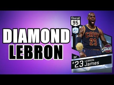 DIAMOND LEBRON JAMES + DRAFT | NBA 2K17
