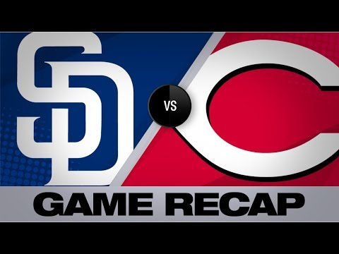 Video: Iglesias, Castillo lead Reds to 4-2 win | Padres-Reds Game Highlights 8/21/19