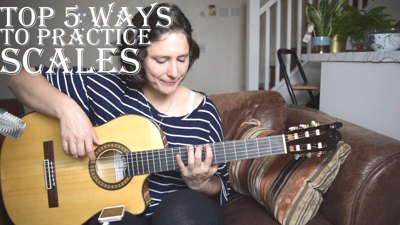 Top 5 ways to practice guitar scales ✔