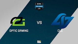 CLG vs OpTic, game 1