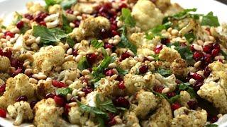 Roasted Cauliflower With Tahini Yogurt •Tasty by Tasty