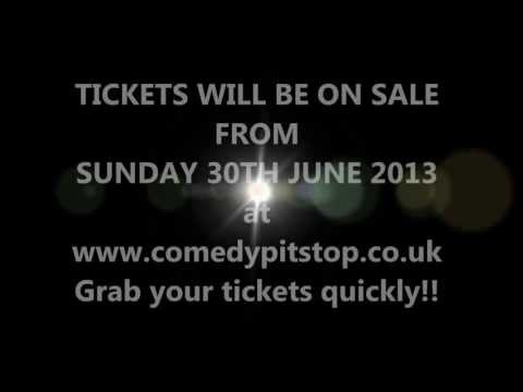 Comedy PitStop Ticket Launch date announced!