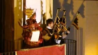 Festa del Fuoco 2015 - l'annuncio dell'araldo -