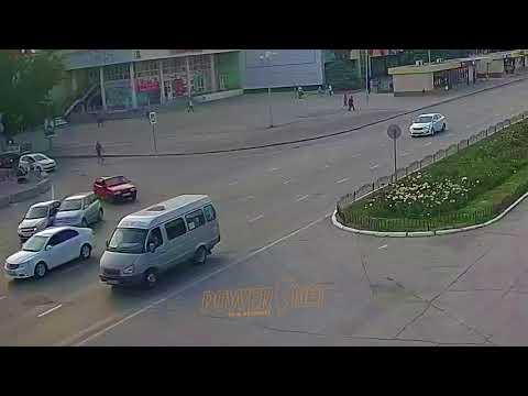 ДТП в Вожске на площади Ленина