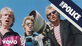 The Police - Walking On The Moon (Official Music Video)