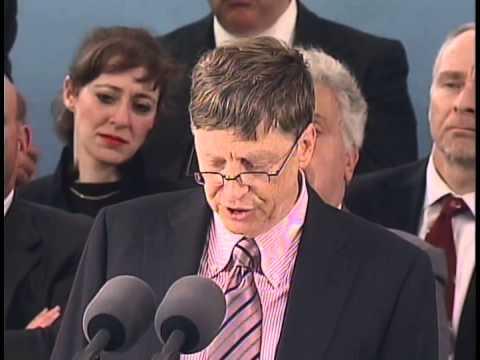 Bill Gates Harvard Commencement Adress 2007
