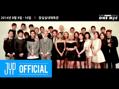 JYP - 2014 JYP NATION