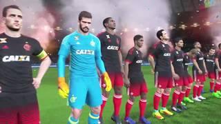 Goleiro do Cruzeiro salvou pra caramba ! Guerrero inspirado ! Time enfrenta o Palmeiras pelas quartas ! Flamengo Pes 2017...