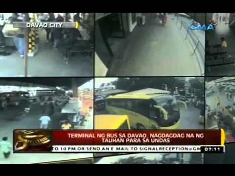 Bus - 24 Oras is GMA Network's flagship newscast, anchored by Mike Enriquez and Mel Tiangco. It airs on GMA-7 Mondays to Fridays at 6:30 PM (PHL Time) and on weekends at 5:30 PM. For more videos...