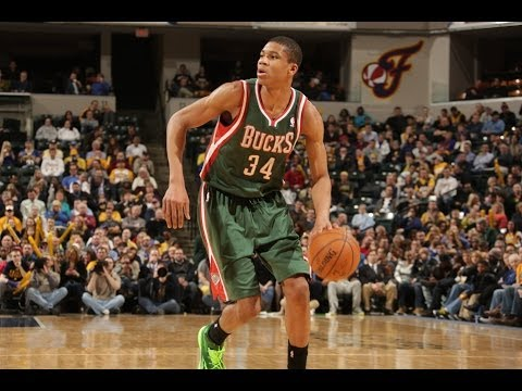 Giannis Antetokounmpo%27s Rookie Year Highlight Video