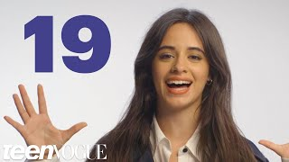 Video Camila Cabello Reveals 19 Facts About Herself in 60 Seconds | Teen Vogue MP3, 3GP, MP4, WEBM, AVI, FLV Juli 2018