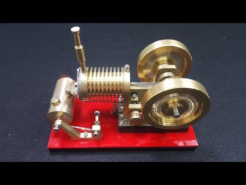 V4 - Stirling Engine Model Educational Discovery