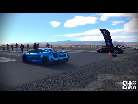 Heffnertwinturbo - Up together on the dragstrip at Shift S3ctor Airstrip Attack 7, a Heffner Twin Turbo Lamborghini Gallardo with 1800hp and an AMS Alpha 9 Nissan GT-R with 900...
