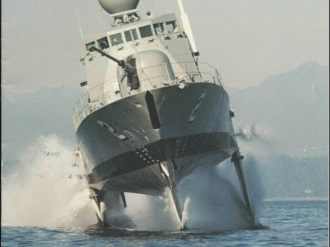 The Fastest Ship in the U.S. Navy: Boeing Pegasus-Class Hydrofoils