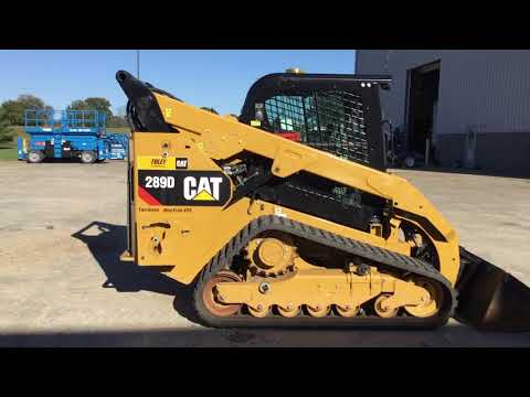 CATERPILLAR MINICARGADORAS 289DXPS2CA equipment video zQ4jUHm8SIw