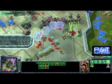 (HD249) GameKult vs P&T - Game 3 - Starcraft 2 Replay [FR]