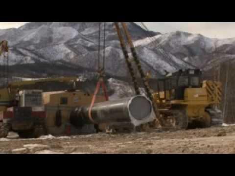 TransSakhalin onshore pipeline system construction