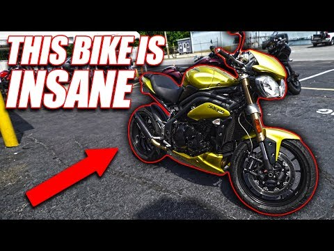 Triumph Speed Triple 1050 //  The Best Sounding Motorcycle?