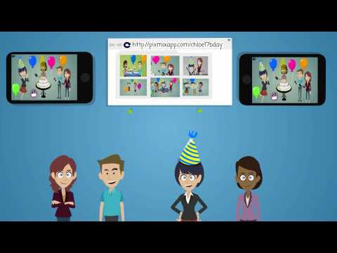 Video of PixMix - Photo sharing