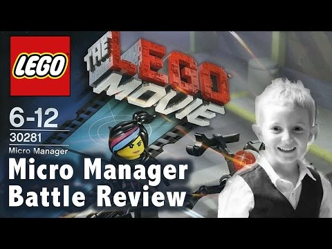 LEGO Movie Micro Manager Battle (30281) - Review By TedTube