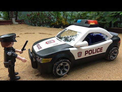 PLAYMOBIL Police Cruiser Car Toys Unboxing