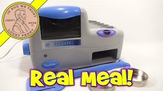 I cook a 3 course meal with my Real Meal Easy Bake Oven! I never thought I would be making pasta :) Buy Here ...