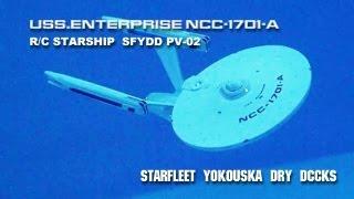 USS.ENTERPRISE NCC-1701-A  R/C STARSHIP  SFYDD PV02
