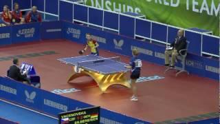 WTTC-2010. Women. Baranova (RUS) vs (ROM)