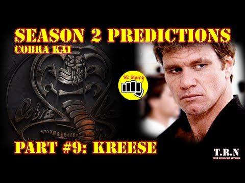 Season 2 Predictions Ep.9-Kreese | Cobra Kai | Reaction with David Rubalcava