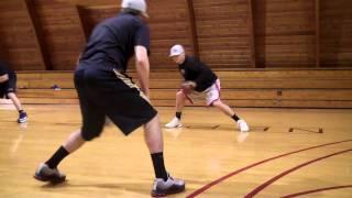 Bridgton Baseball Drills - Glove Drills 1