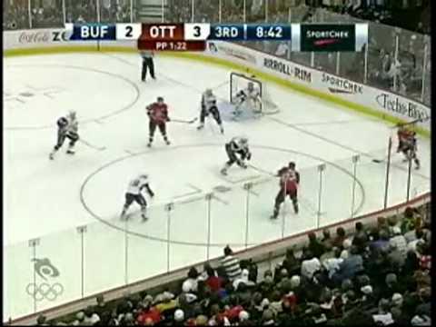 Bell goal 2/2 vs Sabres (03/17/09)