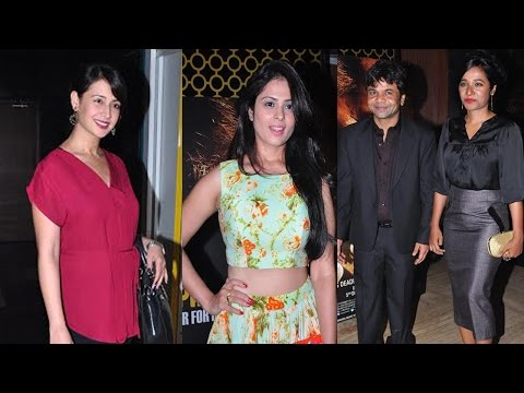Rajpal Yadav & Others At Screening Of The Film Bhopal A Prayer For Rain