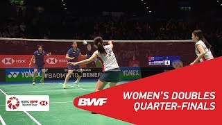 Video WD | CHEN/JIA (CHN) [1] vs TANAKA/YONEMOTO (JPN) [5] | BWF 2018 MP3, 3GP, MP4, WEBM, AVI, FLV Januari 2019