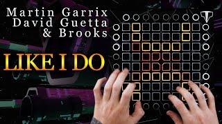 Martin Garrix, David Guetta & Brooks - LIKE I DO / Launchpad Performance