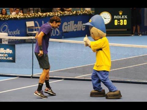 Dancing Tennis Players 2015