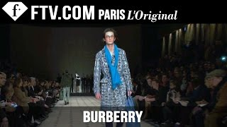 Burberry Men Fall/Winter 2015-16 Show | London Collections: Men | FashionTV