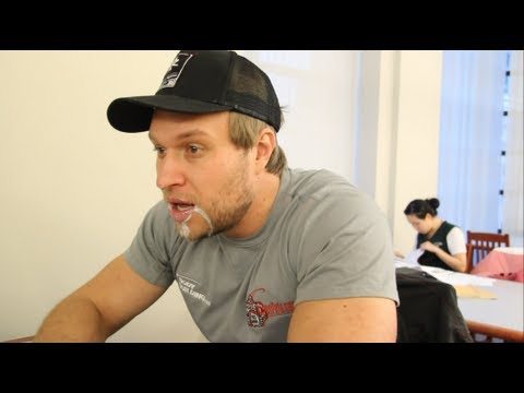 Eating A Ghost Pepper (World's Hottest Pepper) In The Library | Furious Pete