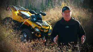 2. 2010 Can-Am Outlander 500 XT Test Ride