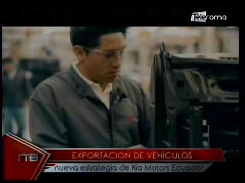 Exportación de vehículos nueva estrategia de Kia Motors Ecuador