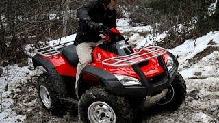 10. 2009 Honda Rincon ATV Test - MotoUSA