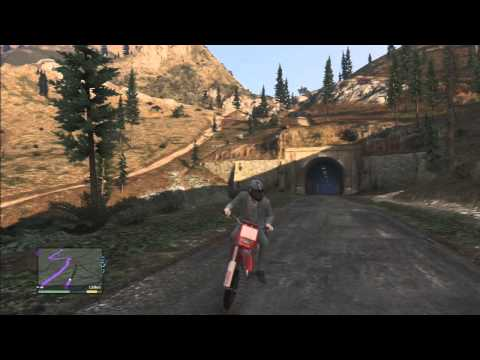 GTA V Explorando #1 – Rumo ao monte! GTA 5 (Playstation 3)