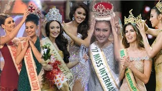 Video 4 CROWNING MOMENTS COMPILATION - Miss International, Earth, Grand International & HispanoAmericana MP3, 3GP, MP4, WEBM, AVI, FLV November 2017